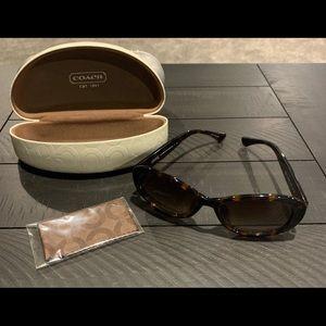 Coach Women's Sunglasses with Case.